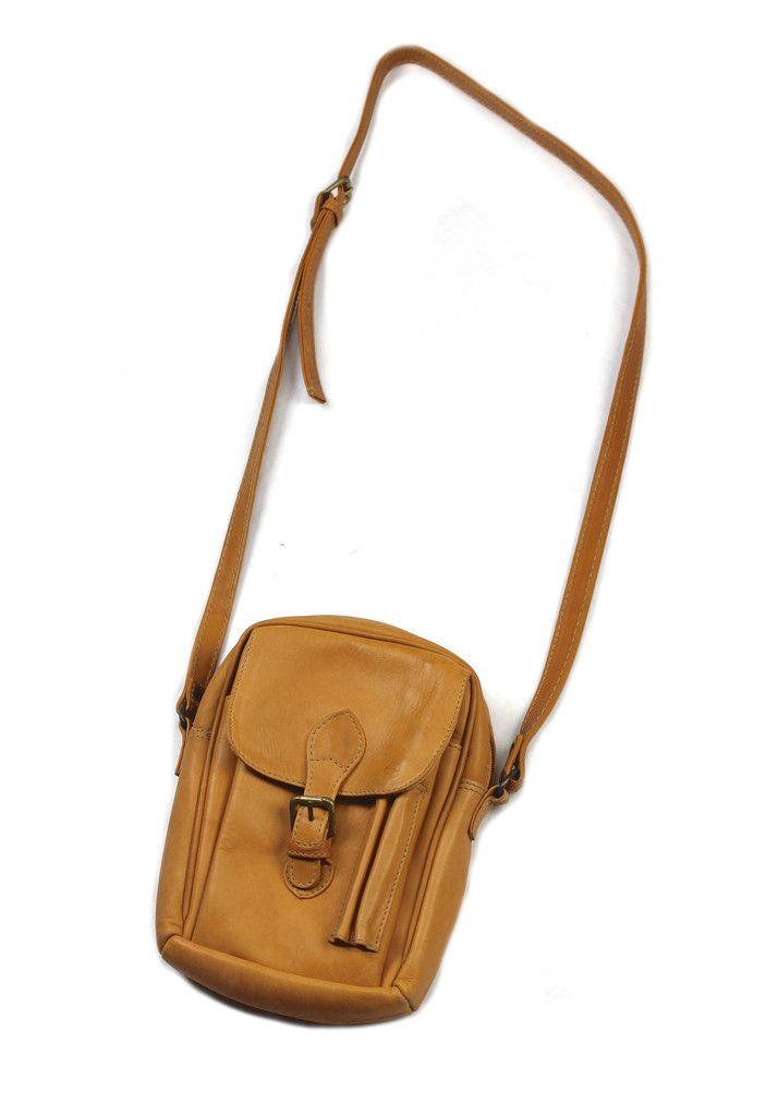 Leather Crossbody Uni Bag