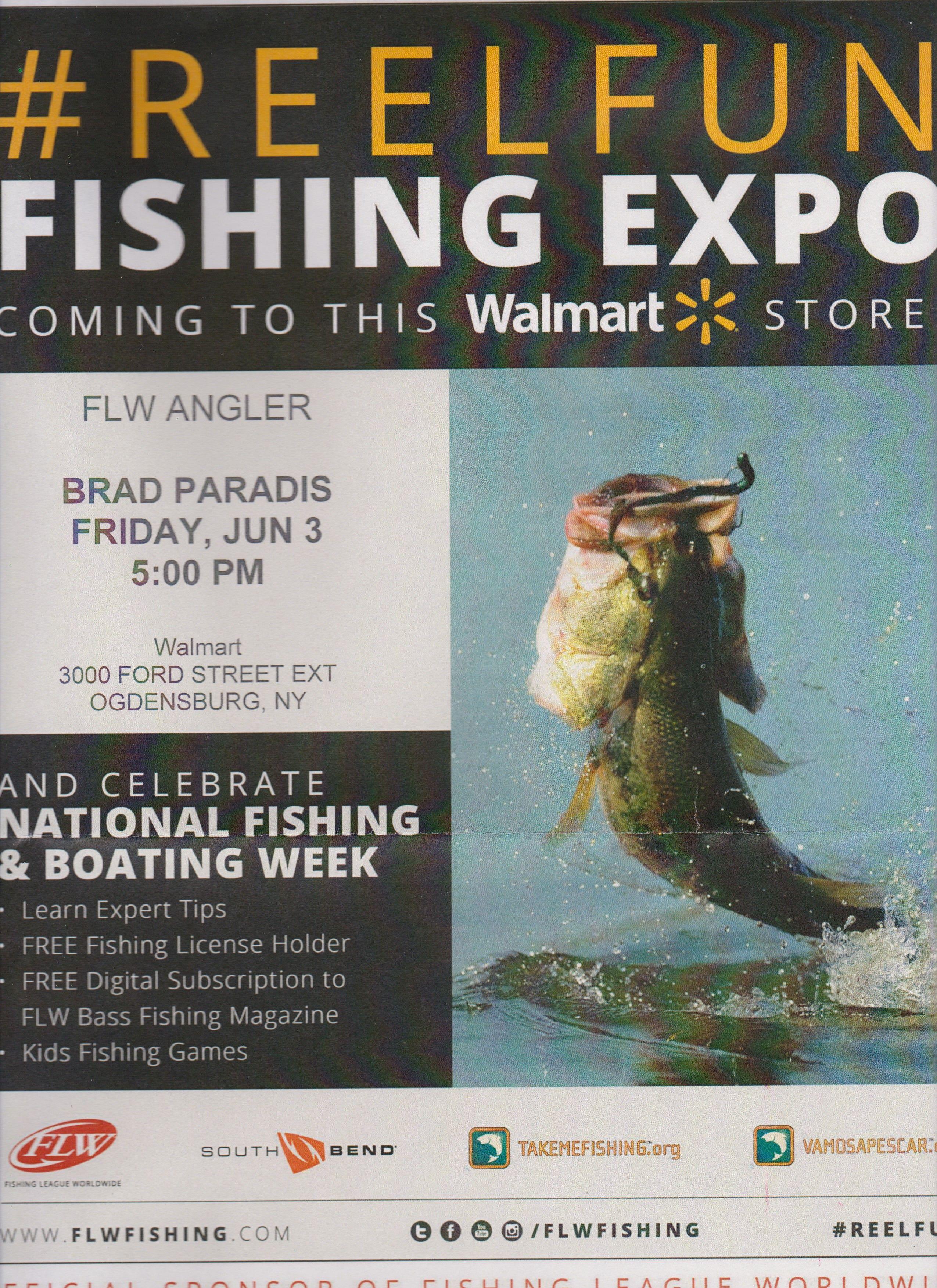 Walmart Fishing Expo Poster Fishing Magazines Fishing Games For Kids Kids Fishing