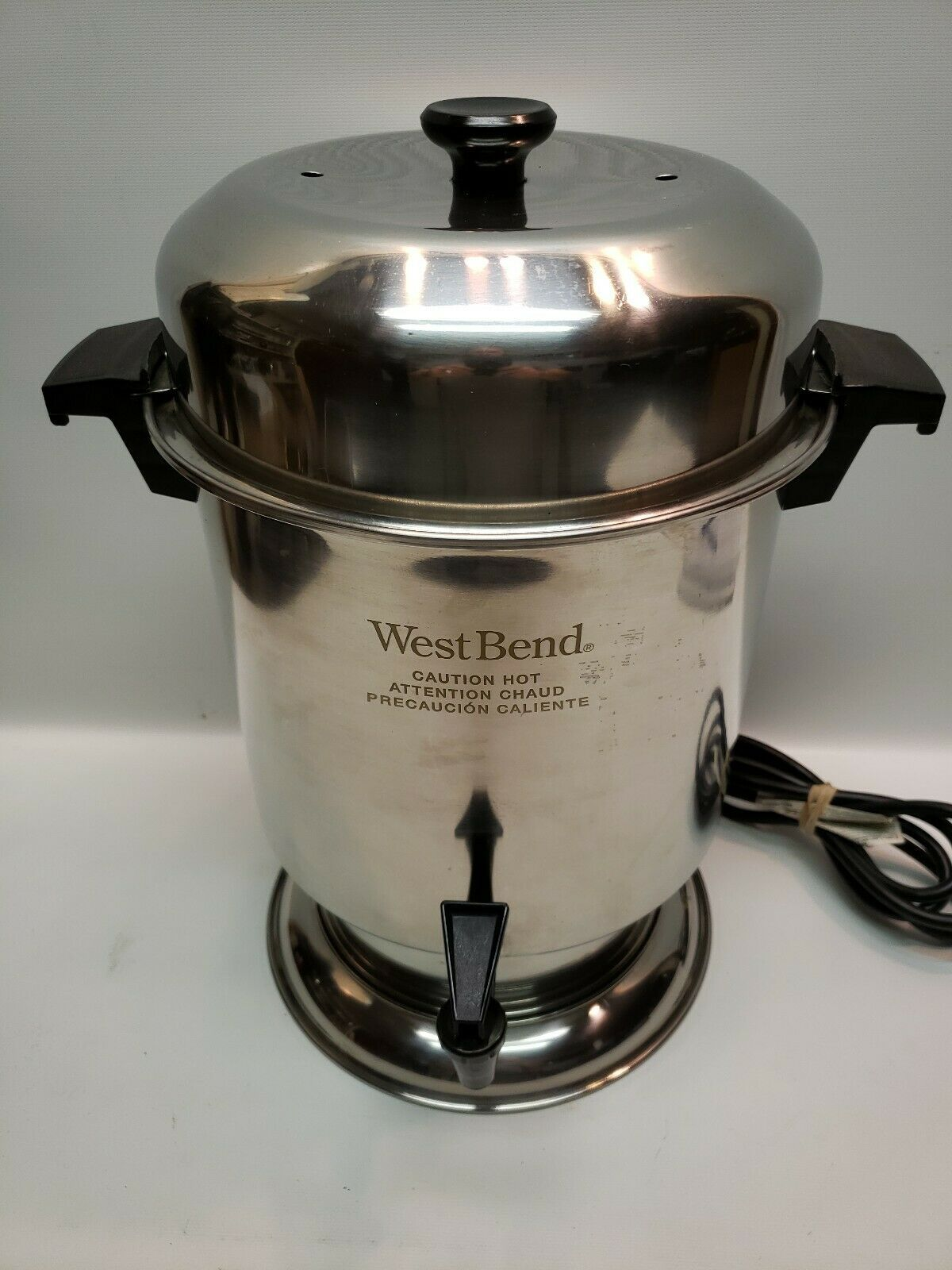 West Bend 12 55 Cup Commercial Coffee Maker Urn Stainless Steel 932w2 72244336009 Ebay In 2020 Commercial Coffee Makers Coffee Maker Electric Coffee Maker
