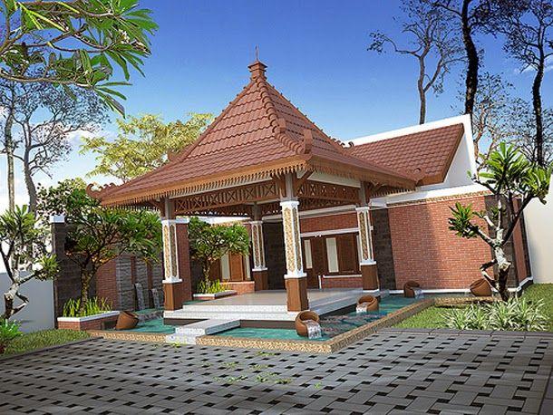 Desain Rumah Joglo Klasik, Kontemporer Dan Morern - Desain Rumah Minimalis | Arsitektur Rumah, Desain Rumah, Home Fashion