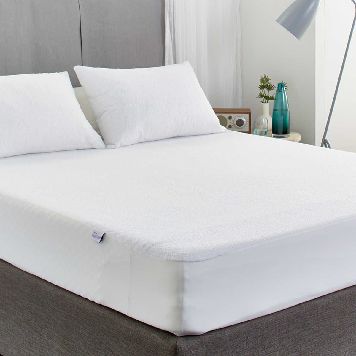 protect a bed cotton terry fitted mattress protector king single