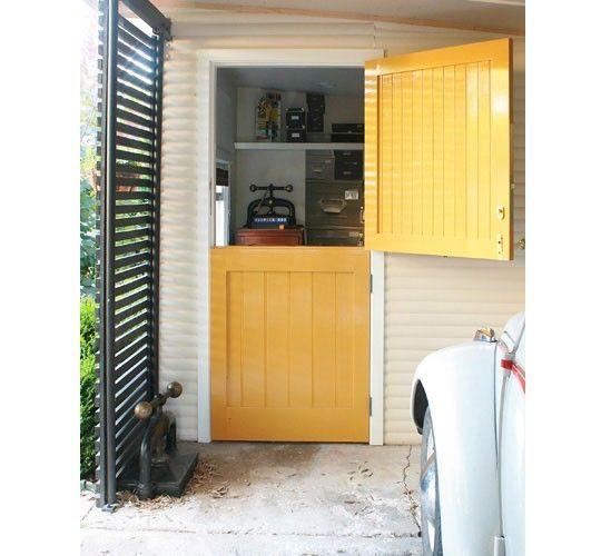 Dutch Doors Home Depot Yellow Love The Split Door For