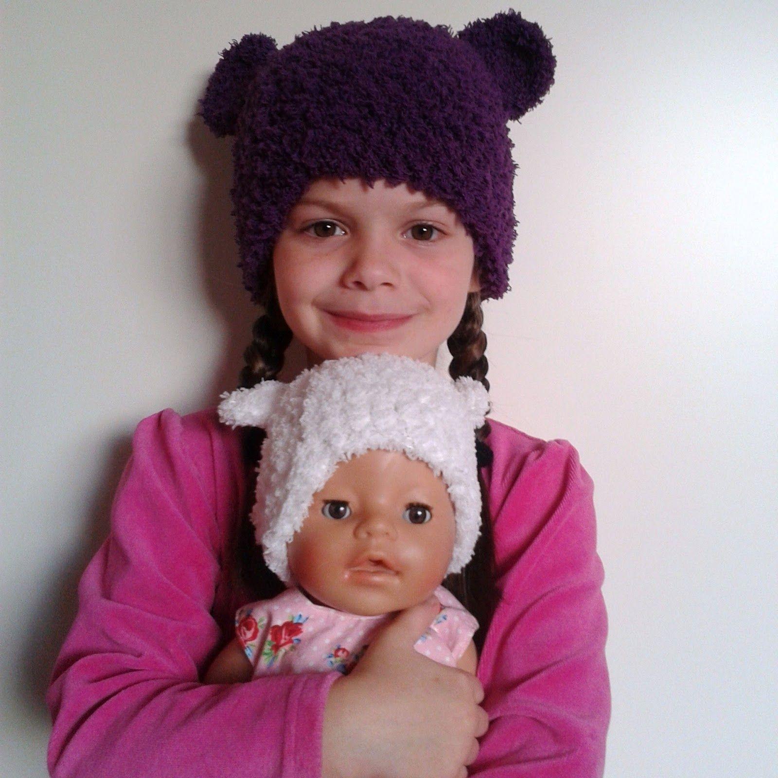 A la Sascha: Baby-tot-tiener Beren Muts! *met Haakpatroon! | Haken ...