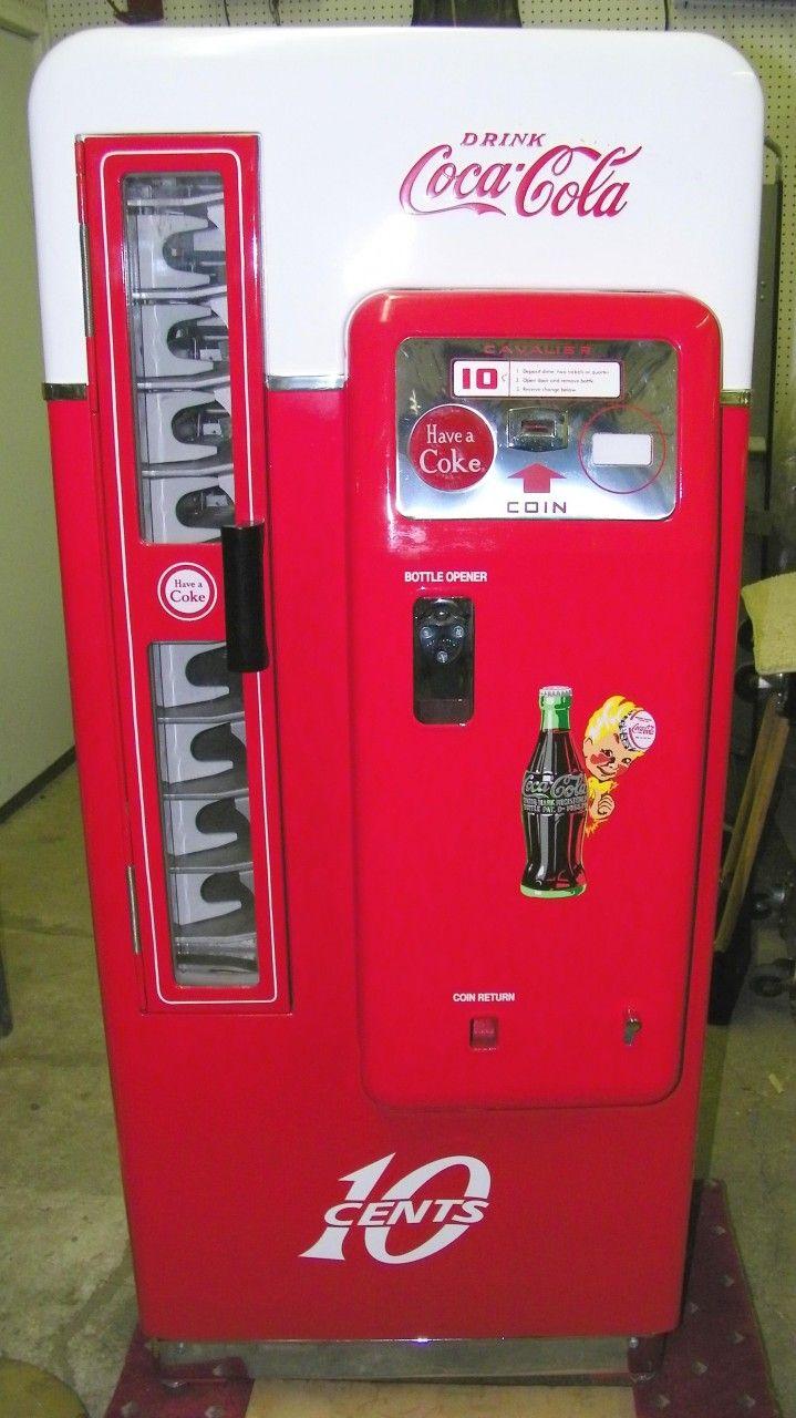 small coca cola vending machine
