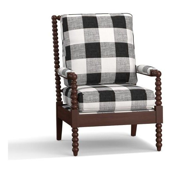 Pottery Barn Loralie Upholstered Armchair 1 099 Liked On Polyvore Featuring Home Furni Upholstered Bedroom Chair Upholstered Chairs Slipcovers For Chairs