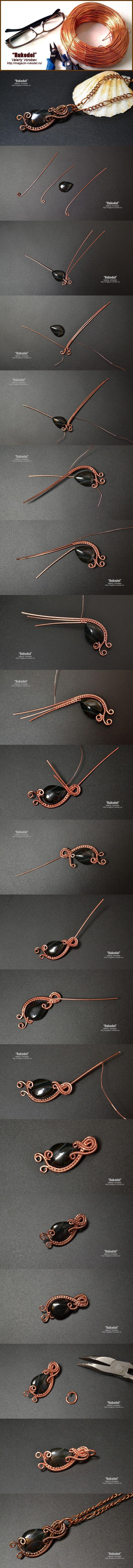 Wire Wrapping для начинающих.   Jewelry Making   Pinterest   Wire ...