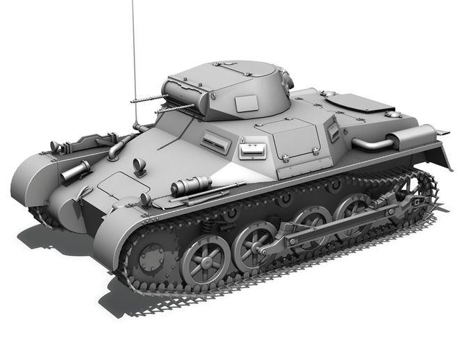 SD KFZ 101 PzKpfw 1 Ausf A