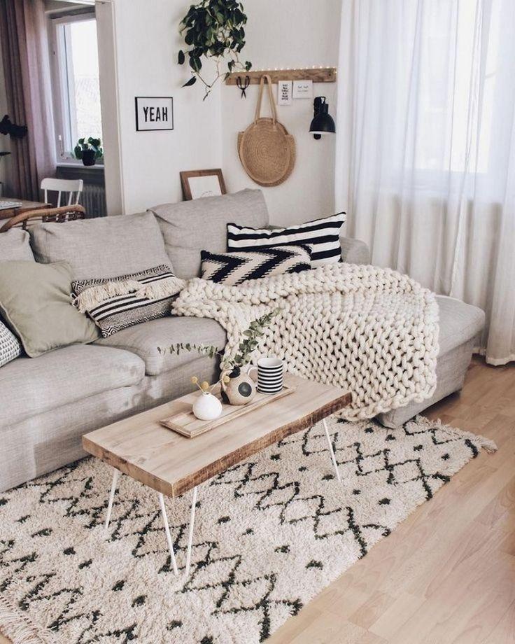 Photo of 59 comfy scandinavian living room decoration ideas 58 # comfy #decoration #ideas # …