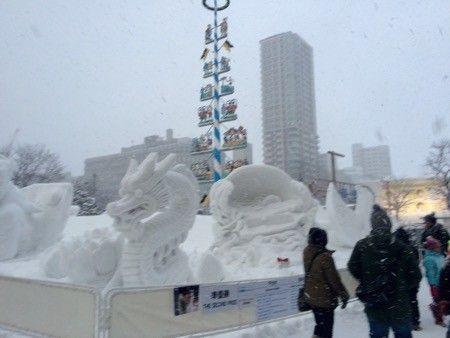 国際雪像コンクールは、力作・話題作ぞろい!【2016結果発表】   札幌ぶらぶらダイアリー #SnowFestival  #雪まつり