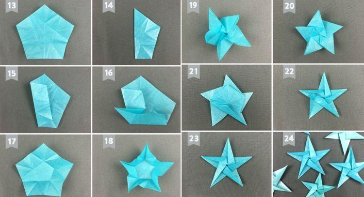 Origami stern falten einfach my blog - Stern falten anleitung kindergarten ...