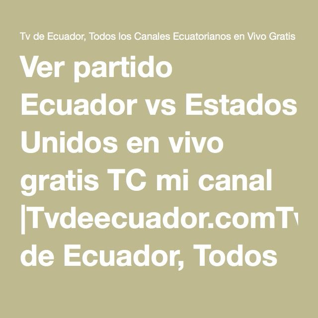 Image Result For Ao Vivo Vs Online En Vivo Ver Partido En Vivo