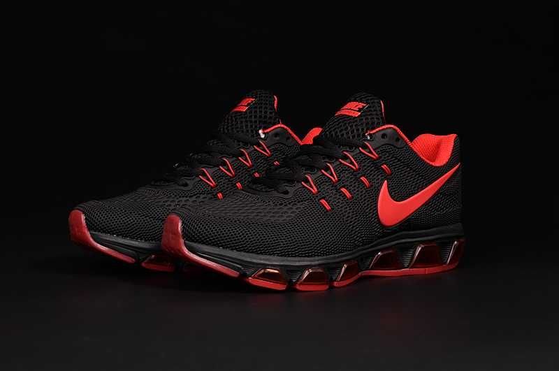 purchase cheap 59f43 c8b15 Nike Air Max Tailwind 8 Men Running Black Red 2017