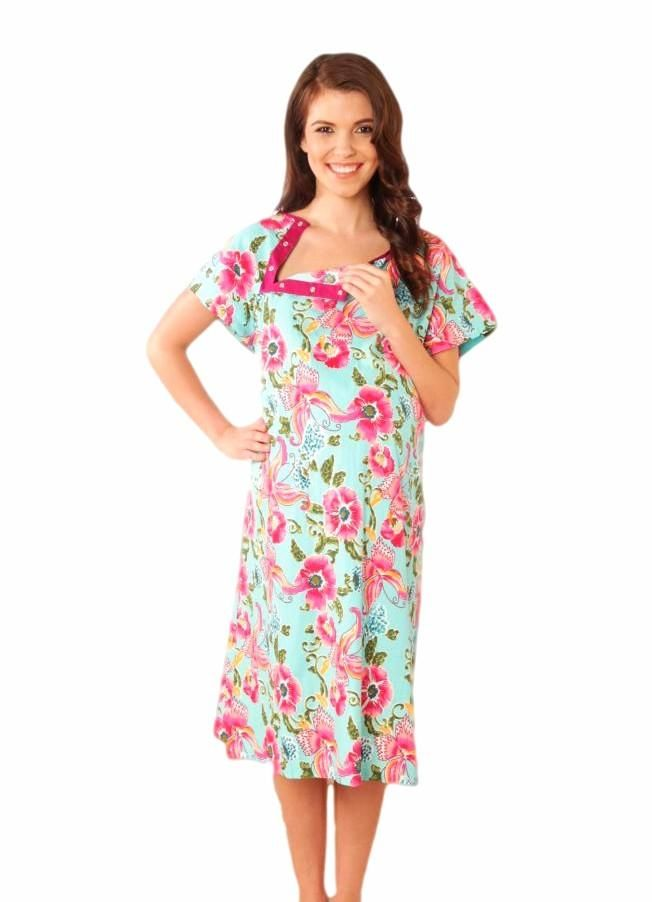 Isabelle Gownie Maternity Delivery Labor Hospital Birthing Gown ...