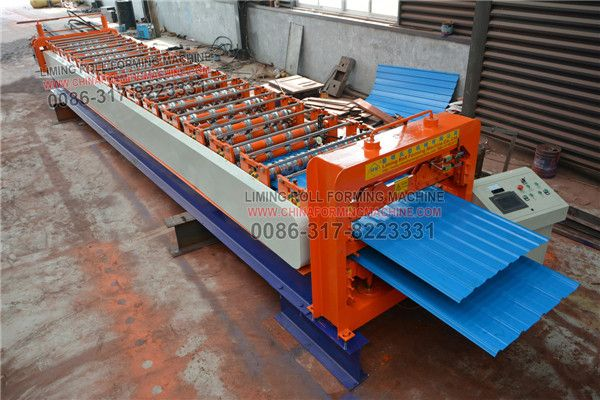 Best Color Steel Double Layer Roofing Sheet Roll Forming 400 x 300