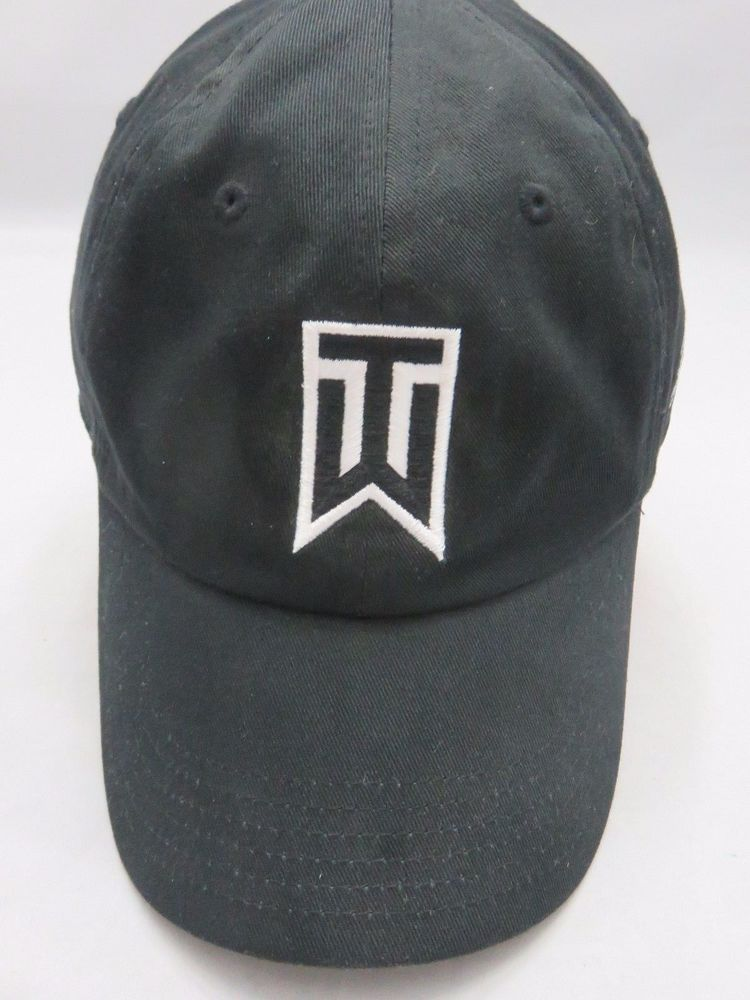 Tiger Woods Nike Buick Open Adjustable Black Golf Hat Baseball Cap One Size   Nike  BaseballCap d4114141169