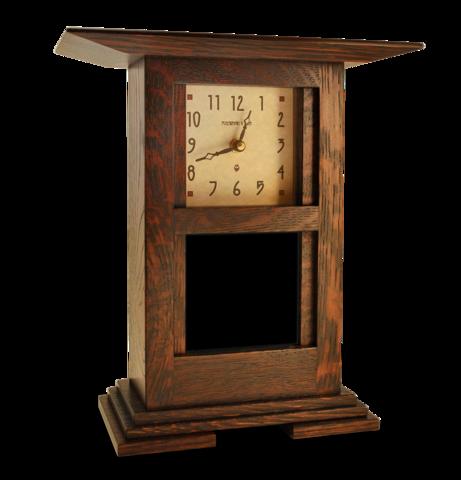 4x4 Prairie Clock