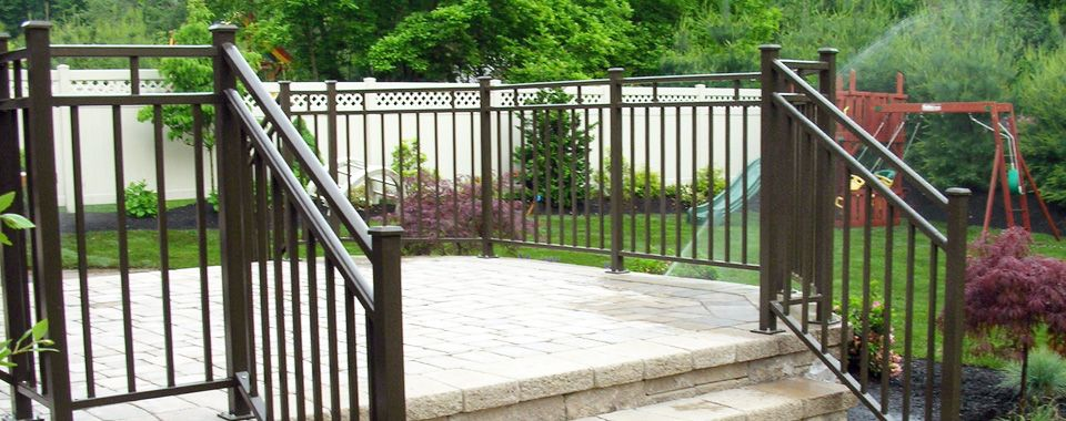 aluminum deck railing systems color new decoration kerry glen
