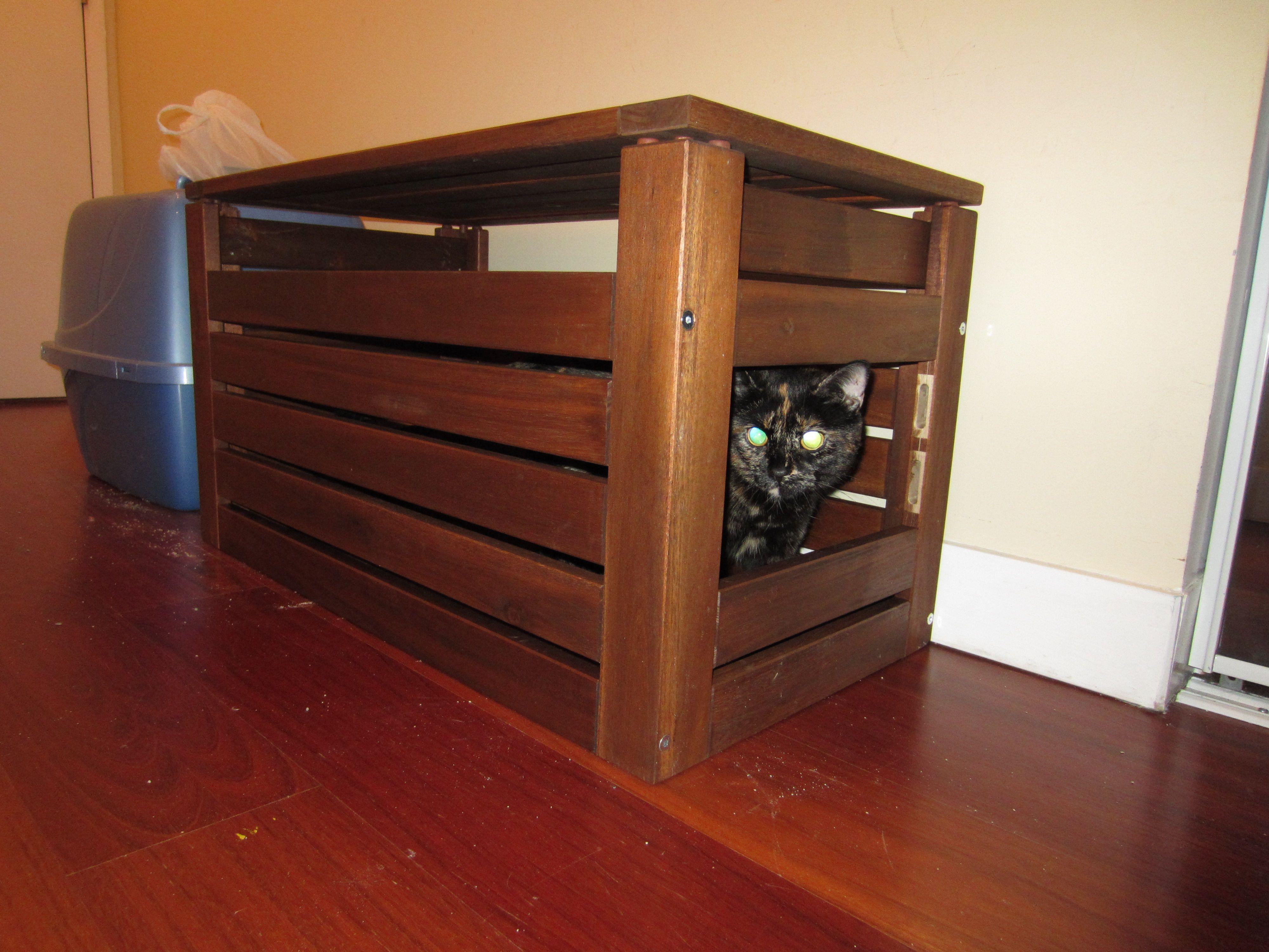 Best Diy Cat Litter Box Hide Away Using Ikea Applaro Storage Bench So Doing This At The New Place Cat Litter Tray Cat Litter Box Litter Box