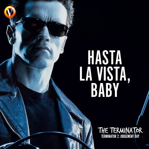 Image result for terminator 2 arnie hasta la vista, baby