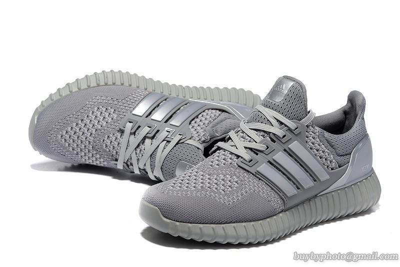 4d77893c389 Mens Adidas Yeezy Boost Ultra Boost Silver Gray  cheapshoes  sneakers   runningshoes  popular  nikeshoes  authenticshoes
