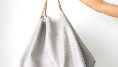 Bolsas de mano y plantillas creadas con telas | Arte de la tela