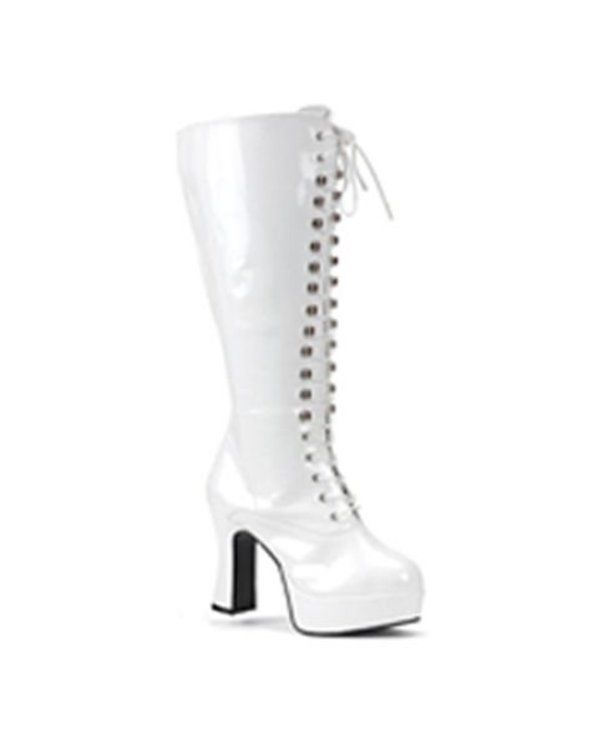 Check out White Wide Width & Calf Lace Up Boot - Halloween Boots ...