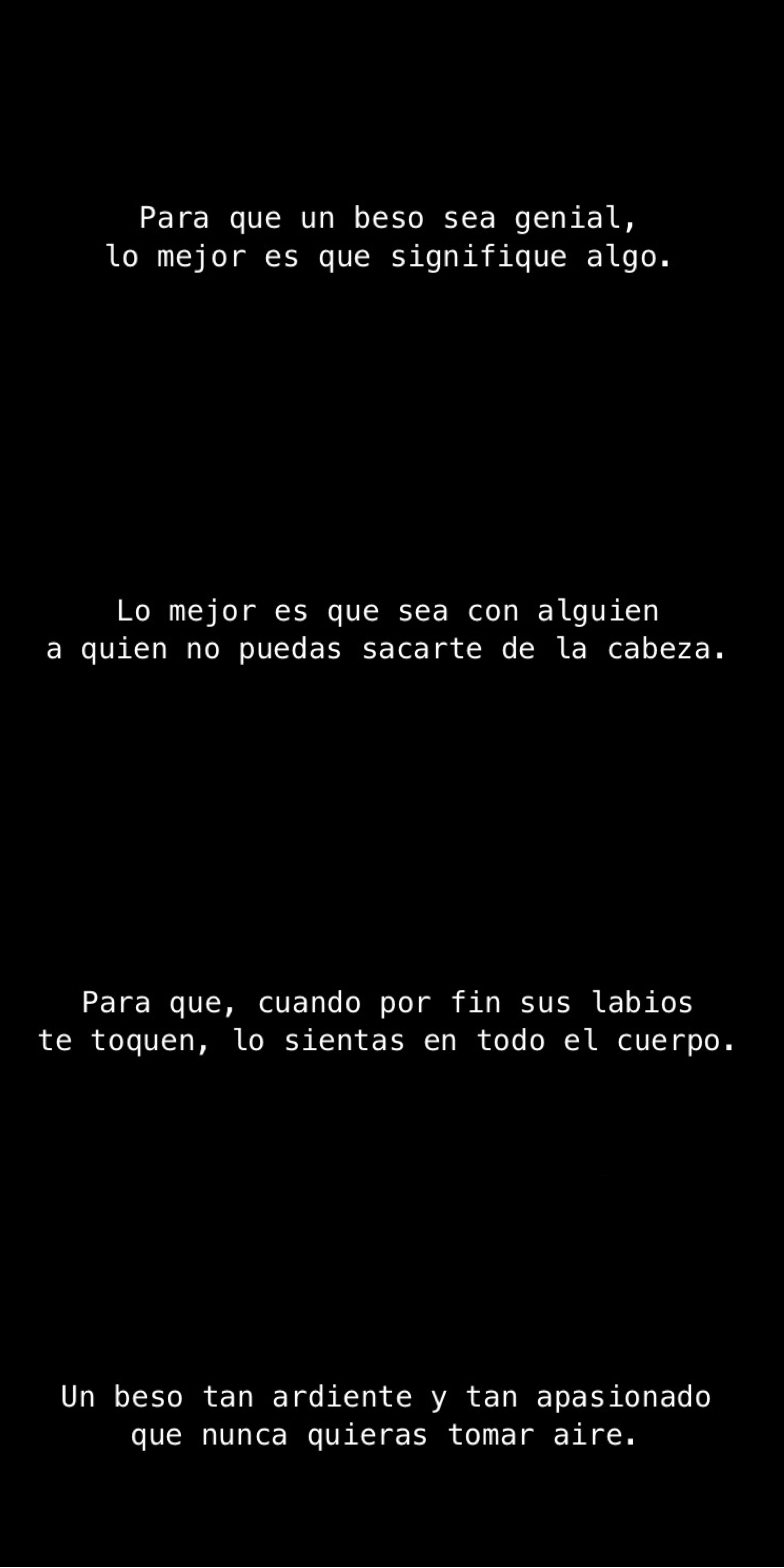 Kiss Tumblr Frases Love Amor Beso Black 11 11 Pinterest