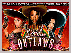 Lovely Outlaws Slot Machine
