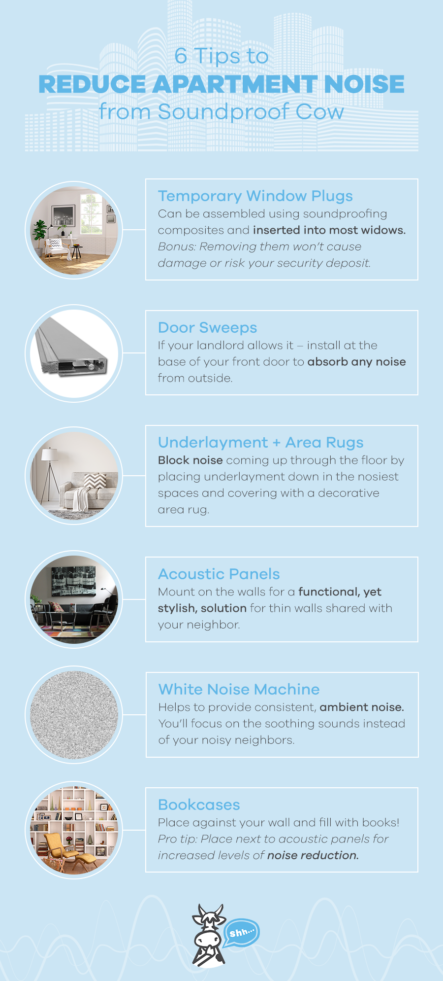 How to Soundproof An Apartment | Apartment Soundproofing in