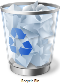The Recycle Bin Icon Looks Like A Real Recycle Bin Recycling Bins Recycle Bin Icon Recycling