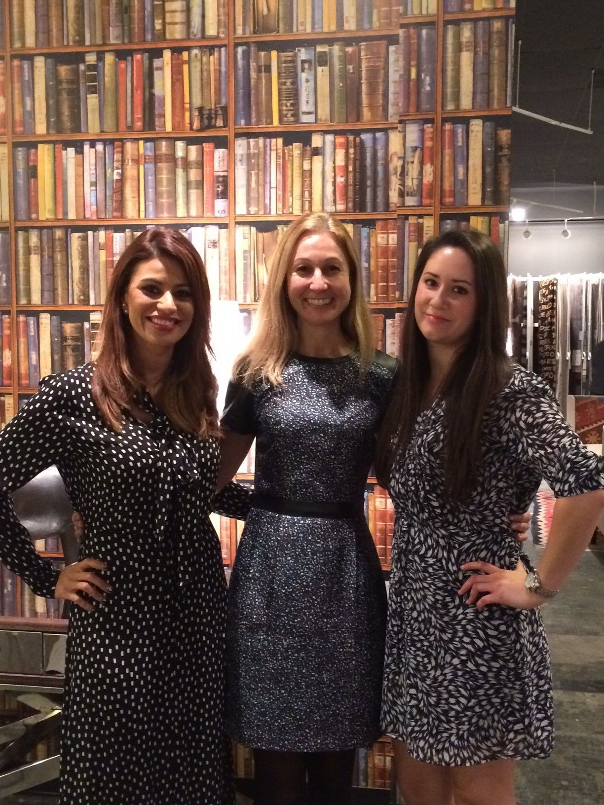 Successful event yesterday at Houston showroom with Jennifer, Christine, and Johanna! #andrewmartin #dch #interiordesign