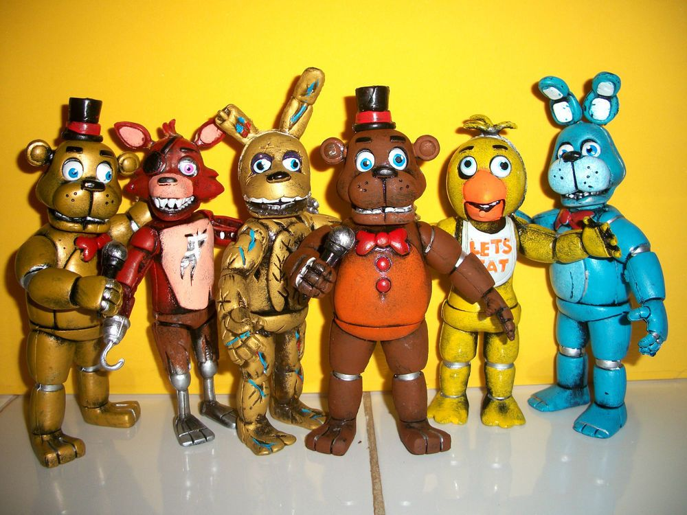 5 Nights At Freddy Toys : Mexican five nights at freddys pizza set animatronics