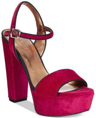 Nine West Carnation Platform Sandals