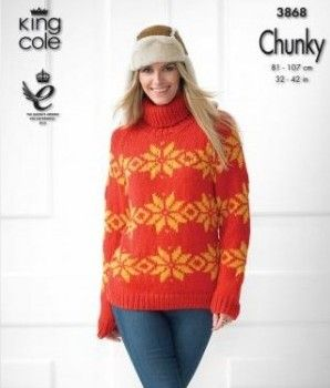 5a71c1b7e60 FREE King Cole Lund Jumper Pattern  The Killing  lookalike - On the Loveknitting  blog