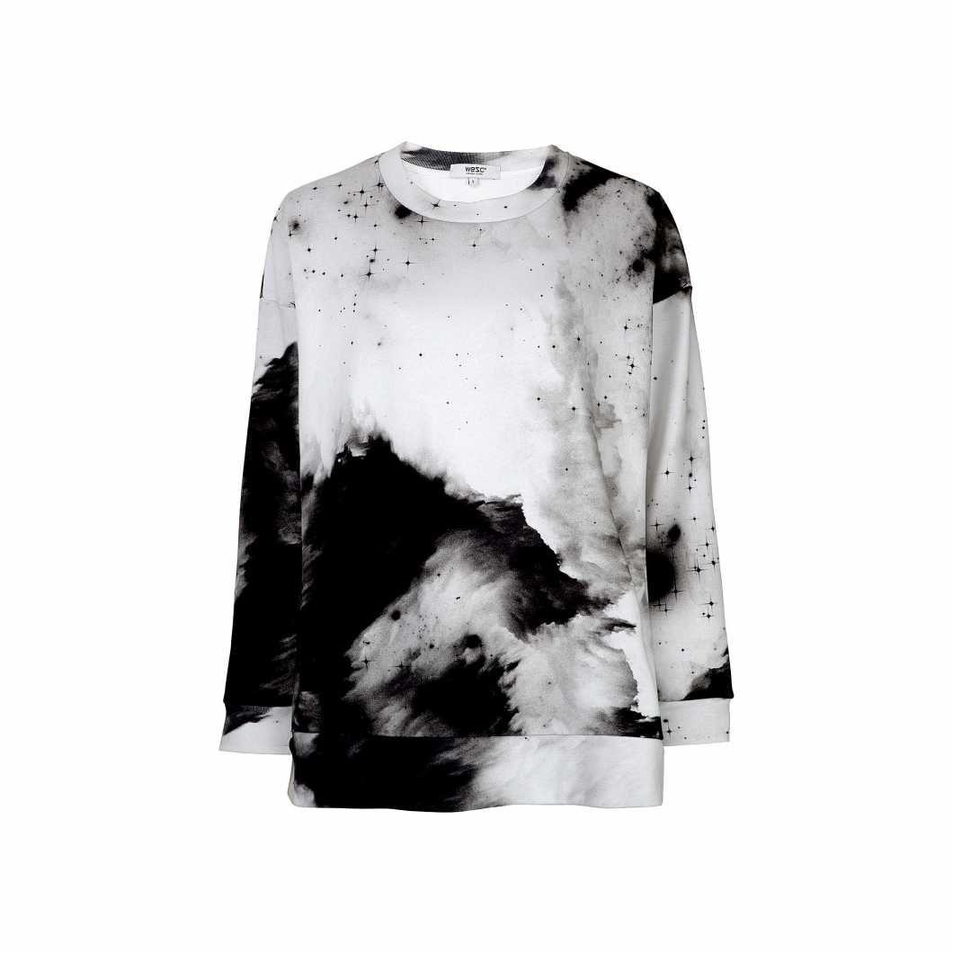 Ivett Aop Crewneck Sweatshirt Wesc Crew Neck Sweatshirt Sweatshirts Lifestyle Clothing [ 1060 x 1060 Pixel ]