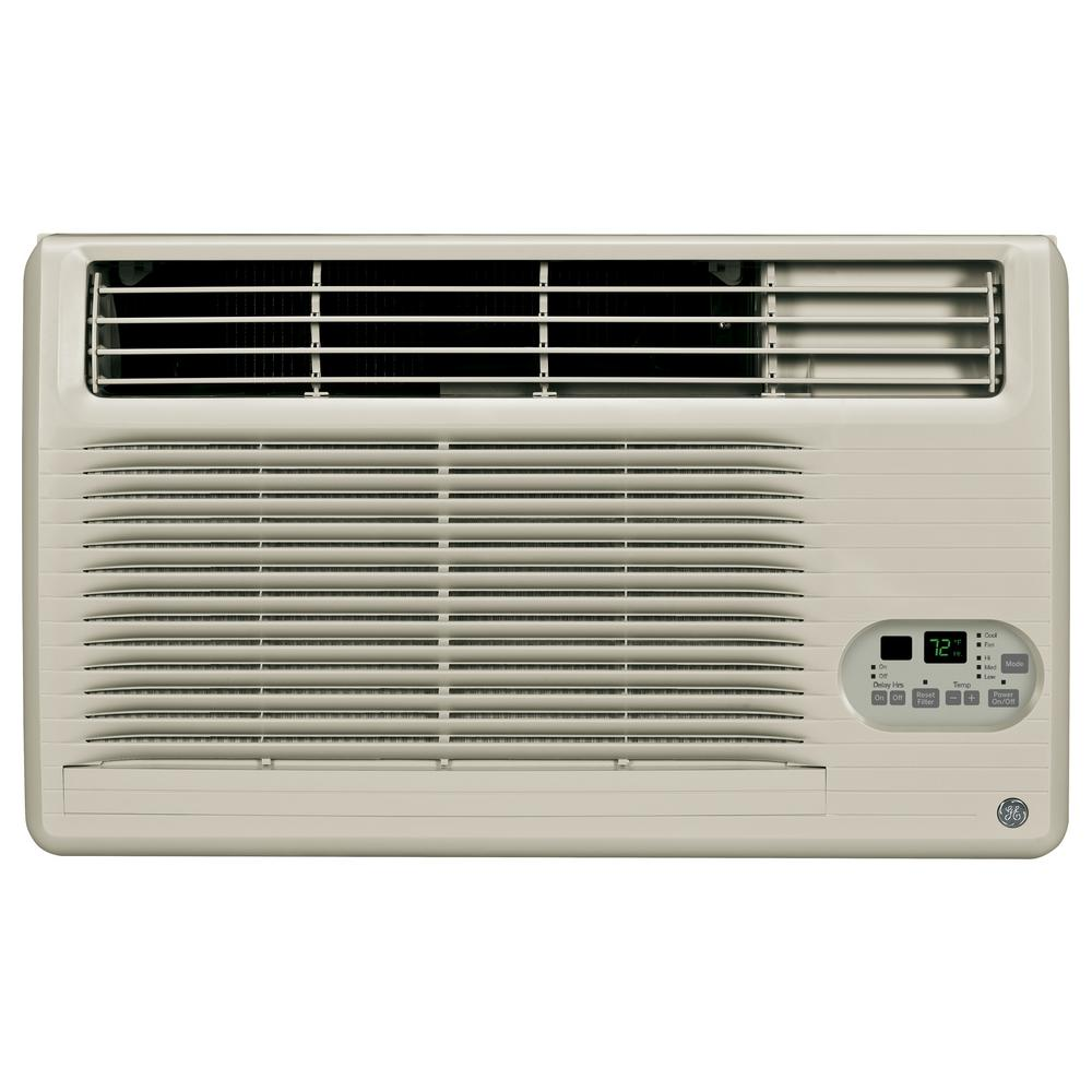 Ge 10 200 Btu 115 Volt Built In Cool Only Room Air Conditioner In