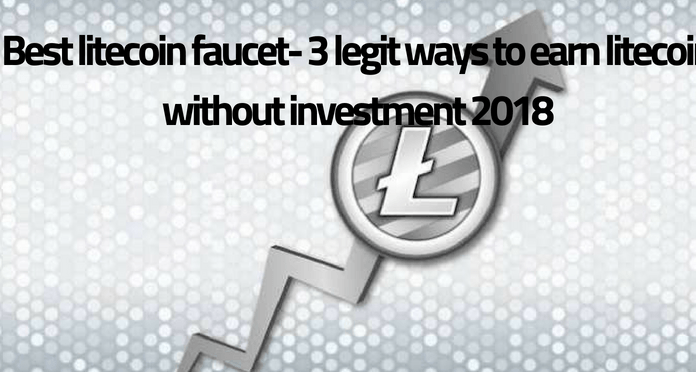 Best Legit Litecoin Faucets To Earn Litecoin 2021 Litecoin Faucet Crypto Money Faucet