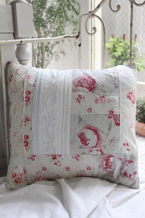 French Antique Handmade cushion