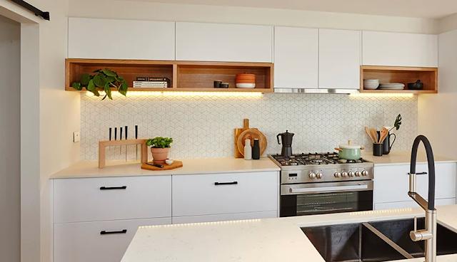 Kitchen Kaboodle Furniture Showroom As Inspiration For A Style Home Dapur Cantik Interior Dapur Kabinet Dapur