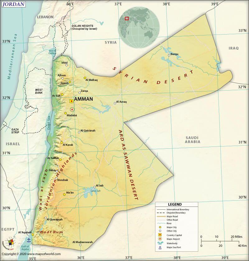 is jordan an arab country