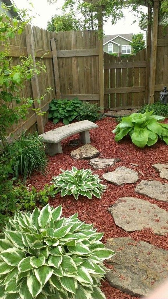 40 Shady Corner Landscaping Ideas for Summer- Cool 40 ...