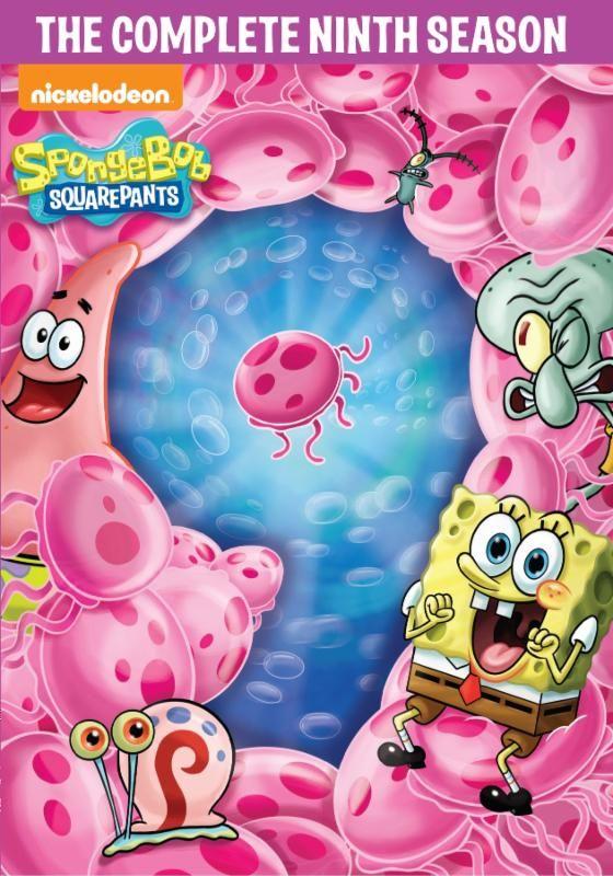 SpongeBob SquarePants: The Complete Ninth Season On DVD!