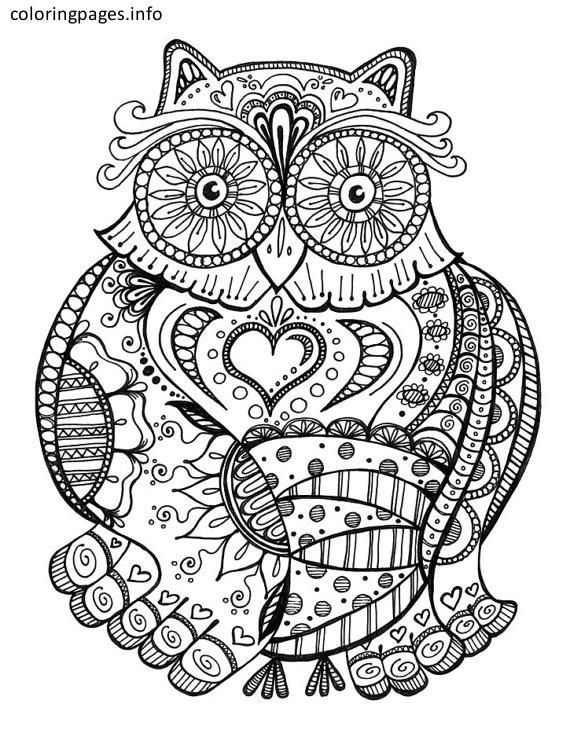 Animal Kaleidoscope Coloring Pages Coloringpages Coloringbook Colouring Freecoloringpages