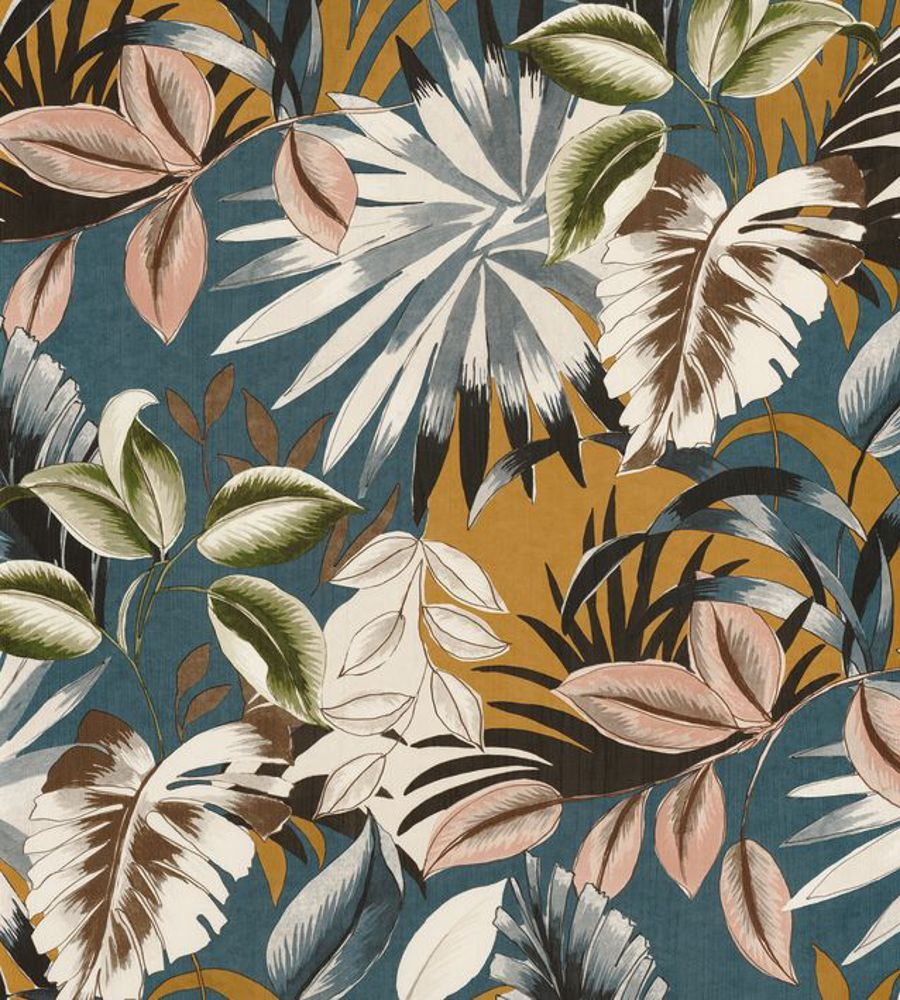 Floresta - Multicouleurs wallpaper | Rio Madeira | Casamance #tropicalpattern