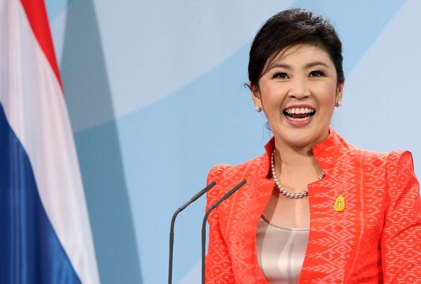 Yingluck Shinawatra Photos: Thai Prime Minister Shinawatra Visits Berlin
