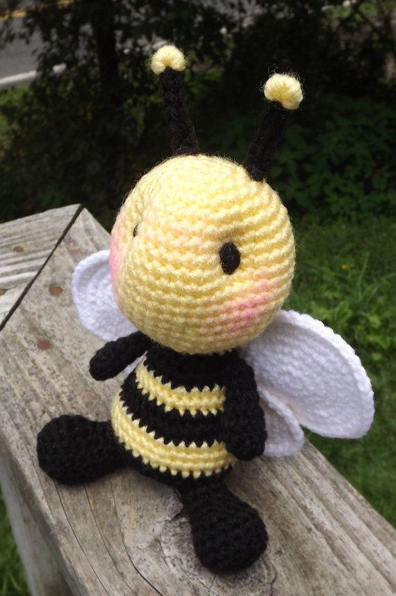 Baby Bumblebee Amigurumi Crochet Pattern Pdf Por Lisajestesdesigns