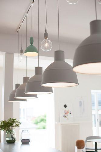 My Visit To Muuto In Copenhagen Pendant Track Lighting Kitchen Ceiling Lights Track Lighting Fixtures