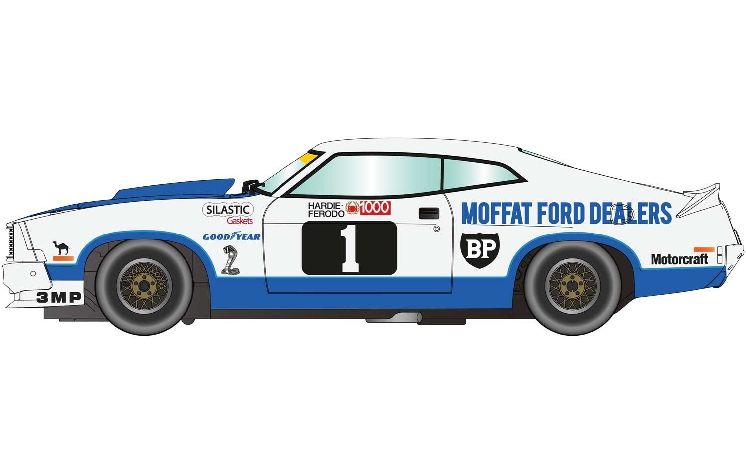 Scalextric C3741 Ford Xc Falcon 1978 Bathurst 1000 Pre Order Now Bathurst Australian Cars Ford Falcon Australia