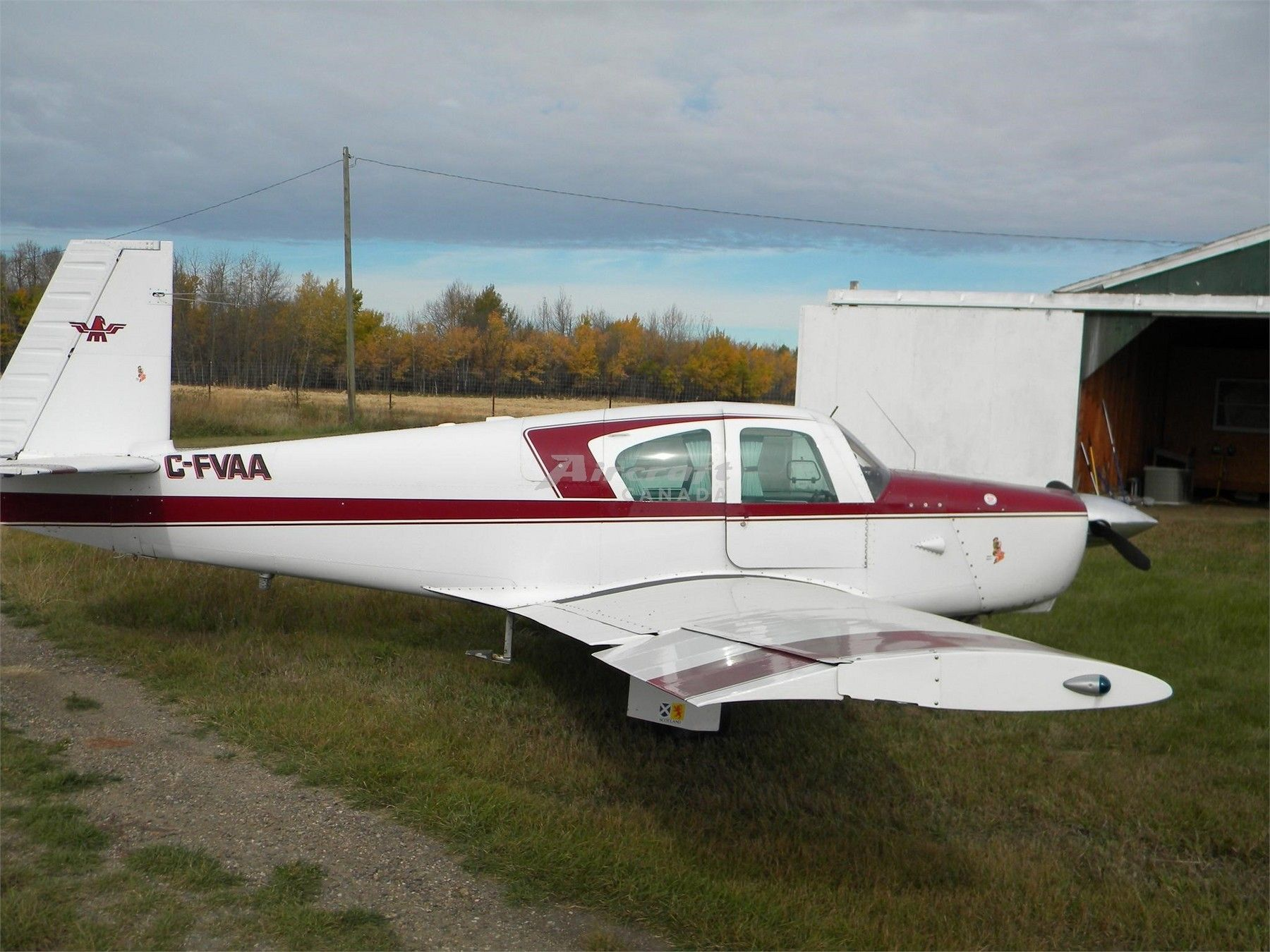 1959 Mooney M20A for sale in AB Canada => http//www