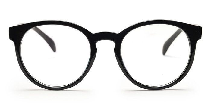 099398aa2c Graviate E12C3644 Black Full Frame Round Computer Glasses for Men and Women